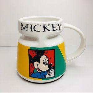 Vintage Mickey Mouse Large Coffee Mug